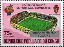 [Football World Cup - Spain - Stamps of 1980 Overprinted Results, Typ AGZ]