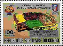 [Football World Cup - Spain - Stamps of 1980 Overprinted Results, Typ AHA]
