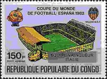[Football World Cup - Spain - Stamps of 1980 Overprinted Results, Typ AHB]