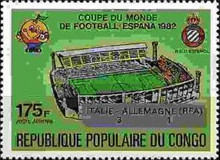 [Football World Cup - Spain - Stamps of 1980 Overprinted Results, Typ AHC]