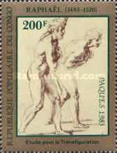 [Easter - The 500th Anniversary of the Birth of Raphael, 1483-1520, type AIA]