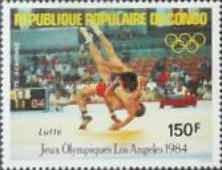[Airmail - Olympic Games - Los Angeles, USA, type AJL]