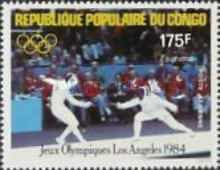 [Airmail - Olympic Games - Los Angeles, USA, type AJM]