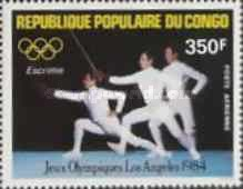 [Airmail - Olympic Games - Los Angeles, USA, type AJN]