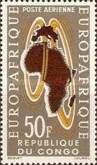[Airmail - European-African Economic Convention, type AK]