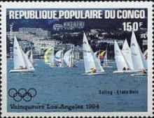 [Airmail - Olympic Games Yachting Gold Medal Winners, type AKS]