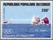 [Airmail - Olympic Games Yachting Gold Medal Winners, type AKT]