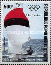 [Airmail - Olympic Games Yachting Gold Medal Winners, type AKU]