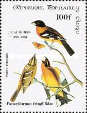 [Airmail - Birds - The 200th Anniversary of the Birth of John J. Audubon, Typ ALF]