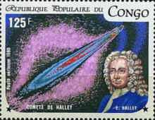 [Airmail - Appearance of Halley's Comet, Typ AMJ]