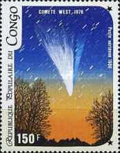 [Airmail - Appearance of Halley's Comet, type AMK]