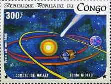[Airmail - Appearance of Halley's Comet, type AMM]