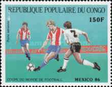 [Airmail - Football World Cup - Mexico 1986, type AMZ]