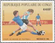 [Airmail - Football World Cup - Mexico 1986, type ANB]