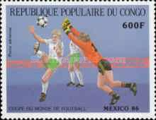 [Airmail - Football World Cup - Mexico 1986, type ANC]