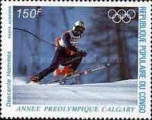 [Airmail - Winter Olympic Games - Calgary, Canada (1988), type ANP]
