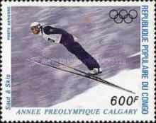 [Airmail - Winter Olympic Games - Calgary, Canada (1988), Typ ANS]