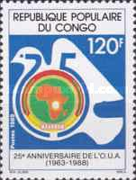 [The 25th Anniversary of Organization of African Unity, Typ ARK]
