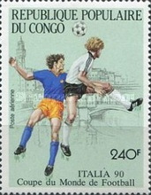 [Airmail - Football World Cup - Italy, Typ ASI]