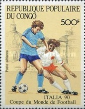 [Airmail - Football World Cup - Italy, Typ ASJ]