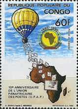 [Airmail - The 10th Anniversary of Pan-African Postal Union, Typ ATG]
