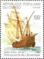 [The 500th Anniversary (1992) of the Discovery of America by Columbus, Typ AUG]