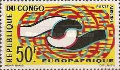 [Airmail - Europafrique, Typ BK]