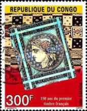 [The 150th Anniversary of French Stamps, type BKN]