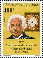 [The 50th Anniversary of the Death of Albert Einstein, 1879-1955, Typ BPF]
