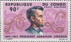 [Airmail - The 100th Anniversary of the Death of Abraham Lincoln, 1809-1865, Typ CF]