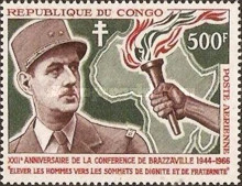 [Airmail - The 22nd Anniversary of Brazzaville Conference, type CI]