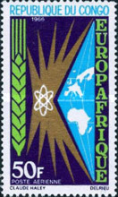 [Airmail - Europafrique, type CX]