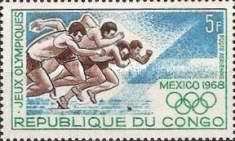 [Airmail - Olympic Games, Mexico, type FK]