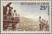[Laying of Coaxial Cable, Brazzaville-Pointe Noire, type ID]