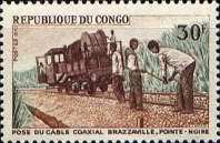 [Laying of Coaxial Cable, Brazzaville-Pointe Noire, type IE]