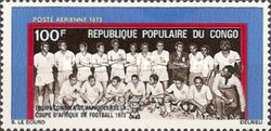[Airmail - Congolese Victory in Africa Football Cup, Typ MM]