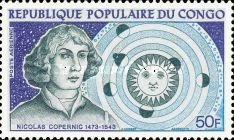 [Airmail - The 500th Anniversary of the Birth of Copernicus (Astronomer), 1473-1543, Typ NB]