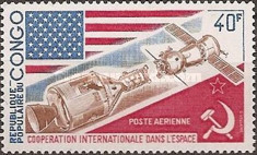 [Airmail - International Co-operation in Space, Typ OD]