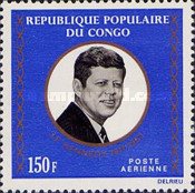 [Airmail - The 10th Anniversary of the Death of President Kennedy, 1917-1963, Typ OS]