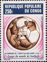 [Airmail - West Germany's Victory in Football World Cup - West Germany, Typ OZ]