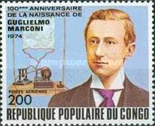 [Airmail - The 100th Anniversary of the Birth of Churchill, 1874-1965 and Guglielmo Marconi (Radio Pioneer), 1874-1937, Typ PG]