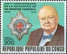[Airmail - The 100th Anniversary of the Birth of Churchill, 1874-1965 and Guglielmo Marconi (Radio Pioneer), 1874-1937, Typ PH]