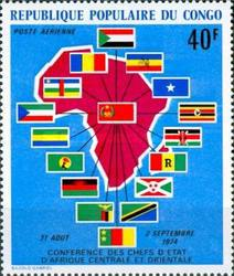 [Airmail - African Heads-of-State Conference, Brazzaville, Typ QH]