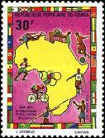 [Airmail - The 10th Anniversary of 1st African Games, Brazzaville, Typ SN]