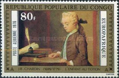 [Airmail - Europafrique - Paintings, Typ TD]