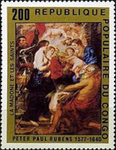 [The 400th Anniversary of the Birth of Peter Paul Rubens, Typ WJ]