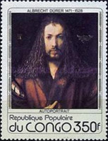 [The 450th Anniversary of the Death of Albrecht Durer (Artist), Typ YJ]