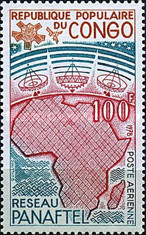 [Airmail - Pan African Telecommunications, type YK]