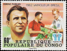 [Football World Cup Winners From 1962-1978 - Stamps of 1978 Overprinted, Typ YL]