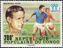 [Football World Cup Winners From 1962-1978 - Stamps of 1978 Overprinted, type YO]